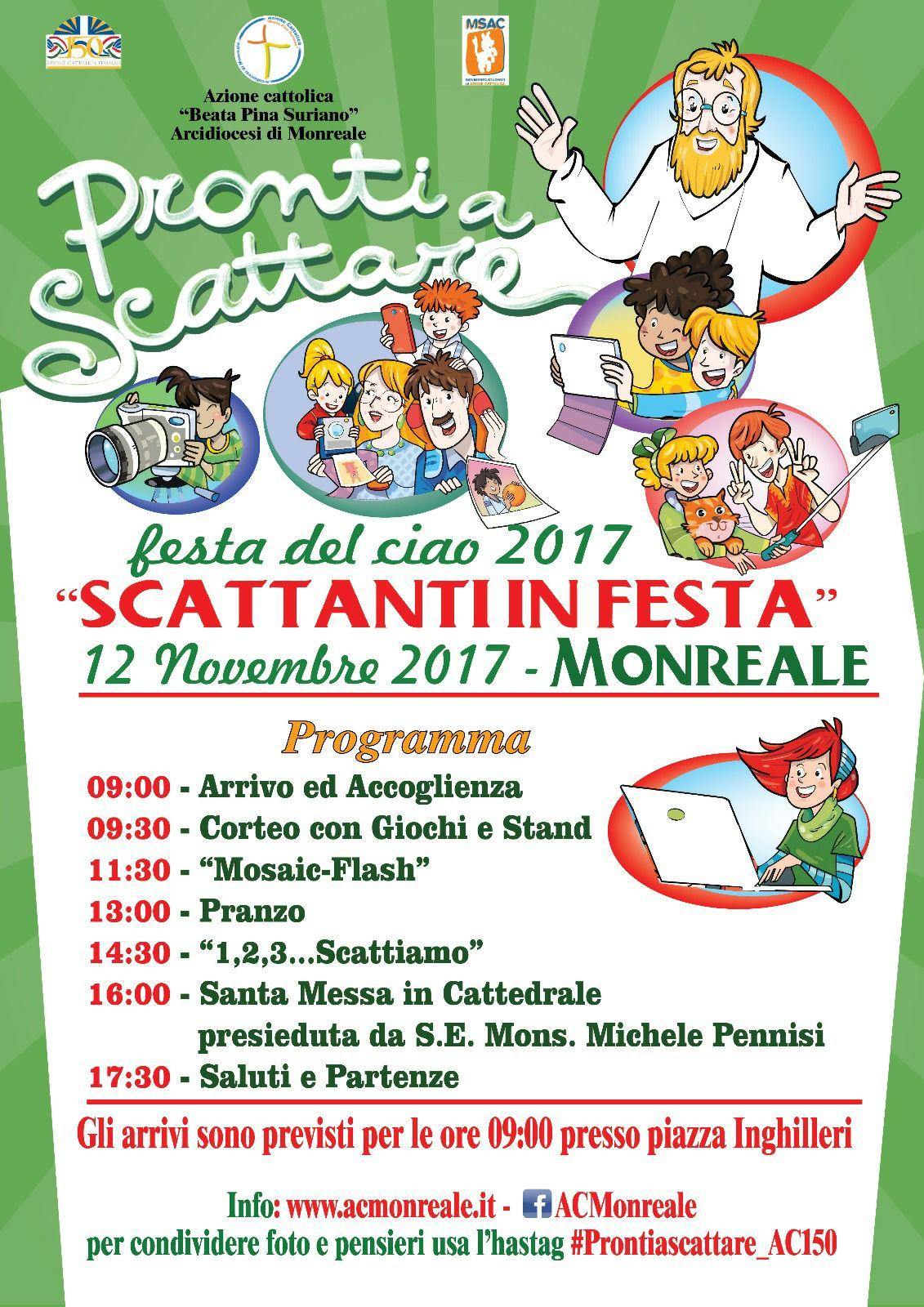 Festa del Ciao. Monreale 12 Novembre 2017